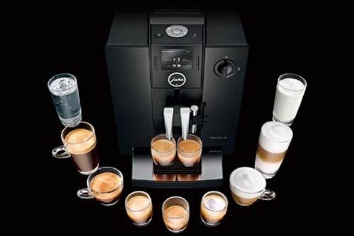 coffee machine guru Jura F8