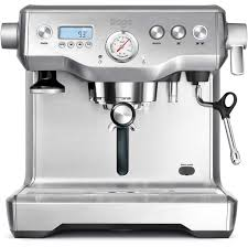 The coffee machine guru Sage by Heston Blumenthal the Dual Boiler Coffee Machine
